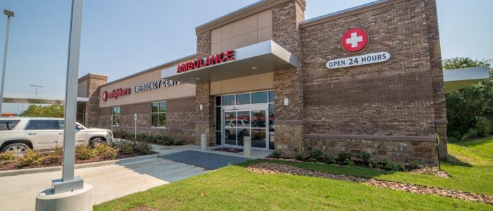 emergency center building crosby