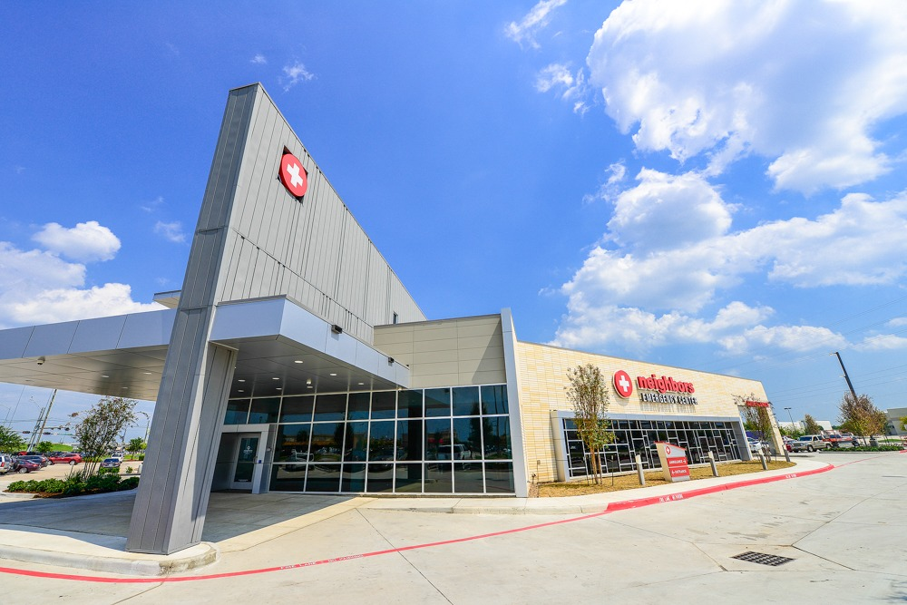 emergency center building pearland
