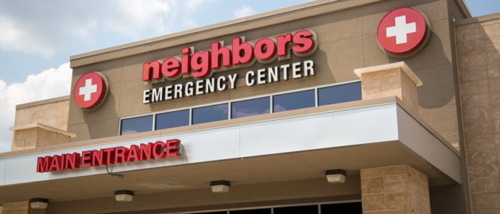 emergency center main entrance