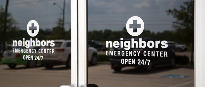 emergency center front doors