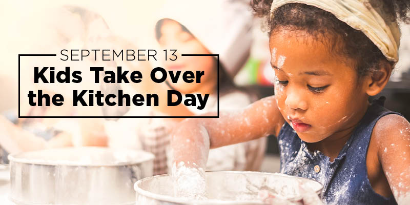 Kids Take Over the Kitchen – Teaching Healthy Cooking to Help Combat Childhood Obesity