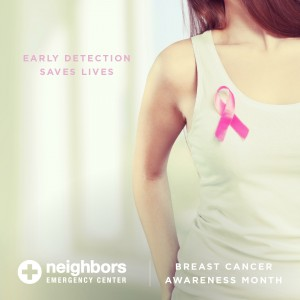 Early Detection Saves Lives - Breast Cancer Month